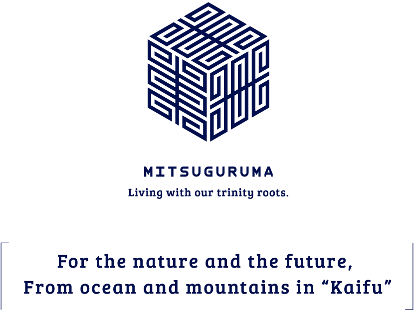 For the nature and the future, From ocean and mountains in Kaifu